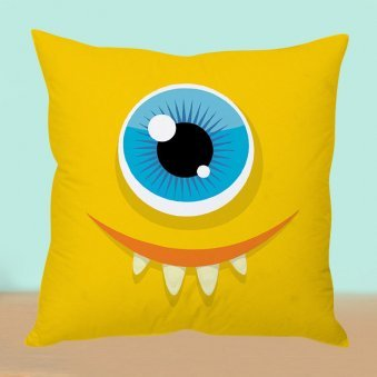 Yellow Mellow Cushion