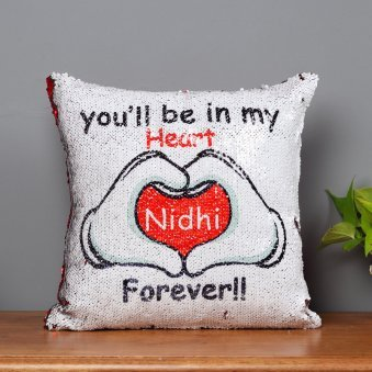 Romantic Personalised Magic Cushion