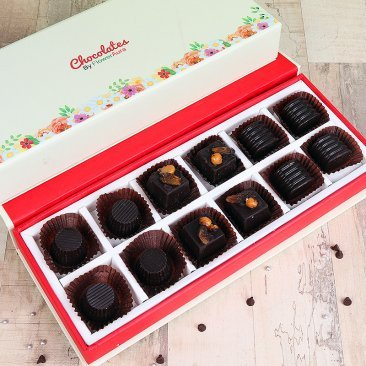Chocolate Reverie - A Box of Handmade Chocolates