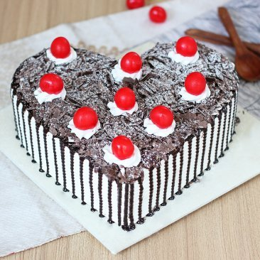 Decadent Black Forest Cake with Normal View