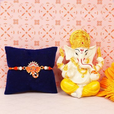 Rakhi and Ganesha Combo for Brother