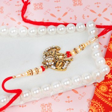 Holy Hanuman Rakhi - Lord Hanuman Rakhi for Bro