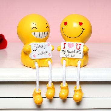 Yellow Couple Love Doll