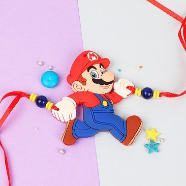 Super Mario Rakhi for Kids