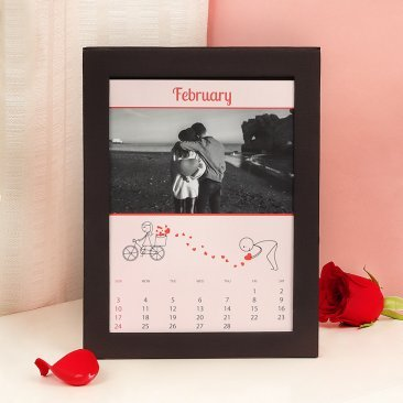 Personalised Love Calendar